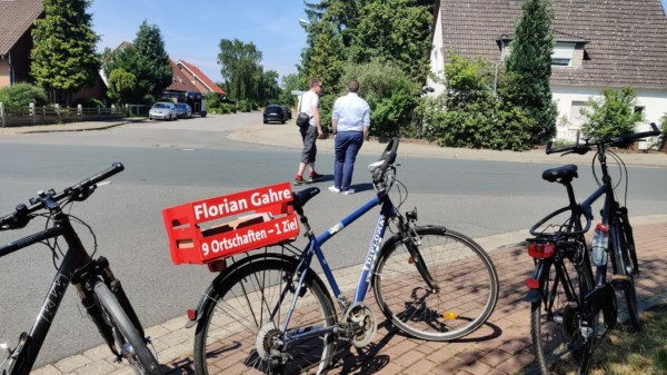 Florian Gahre und Rainer Richter zu Verkehr auf der suedlichen Bahnhofstrasse